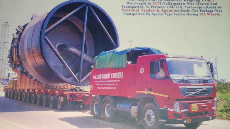 NTA Transported 75 M/T by Road